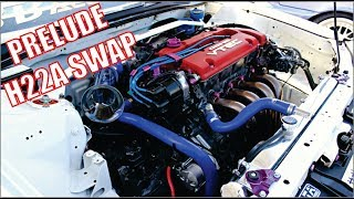 Honda Prelude EuroR Swap
