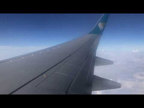Muscat Amazing View(BLR-MCT-DMM) OMAN AIR.. MY FLIGHT TO SAUDI ARABIA FROM INDIA.....