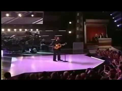 Keith Urban sing  Marty Robbins at ACM Awards George Strait (2009)