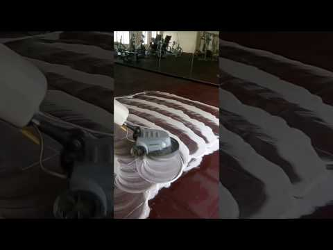 Gym Rubber Floor Cleaning by 9Ts Company