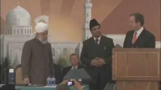 Inauguration of Baitun Nur Mosque, Canada - Part 11