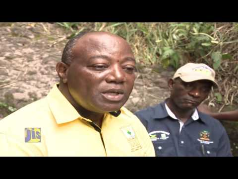 GOJ Adaptation Fund Programme - Making Water Available To Farming Communities - August 2, 2016