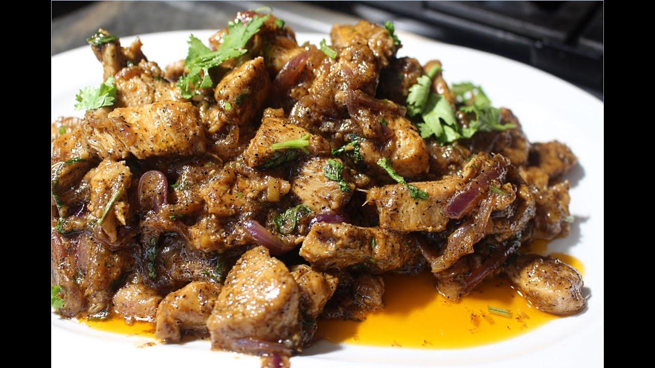 Black Pepper Chicken | Quick & Easy Black Pepper Chicken ...