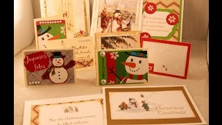 Giving new life to Old Christmas cards