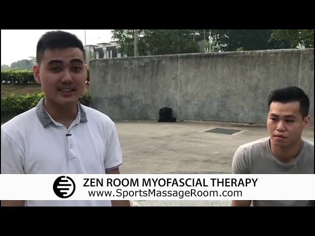 Pain Relief Massage Testimonial by Ke Hao Xun Ke (Professional Muay Thai Fighter)