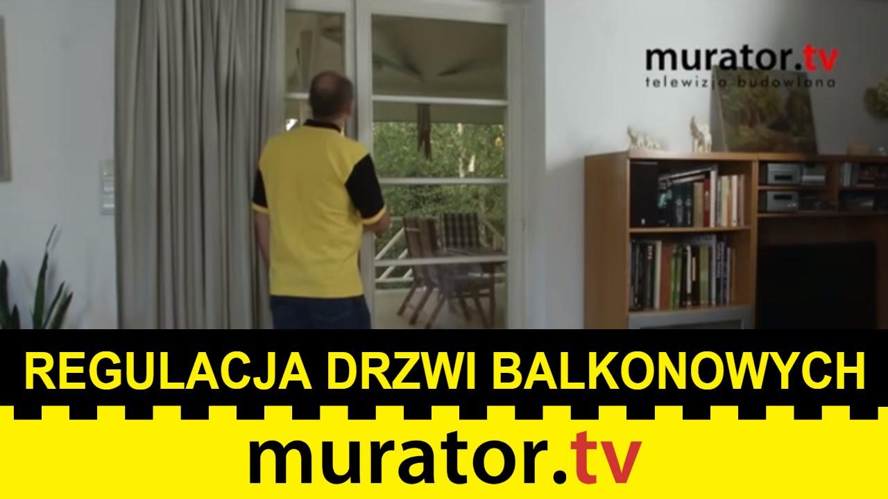 Drzwi Balkonowe Regulacja I Smarowanie Zawiasów Domowe Sos