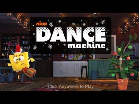 Nick Dance Machine   Sponge Bob Dancing   Nickeledeon Games