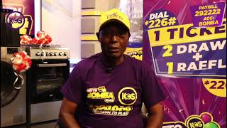 Up to 100 million shillings up for grabs in New Kenya charity sweepstake lottery game , lotto bomba.