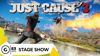 Stage Demo: Just Cause 3 - E3 2015