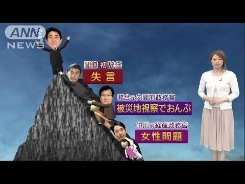 """「東北でよかった」""""失言""""今村復興大臣が正式辞任(17/04/26)"""