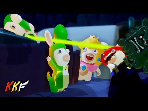 Co-op Challenge-Lava Pit: Four Leaf Cover (2 Player) - Mario + Rabbids Kingdom Battle