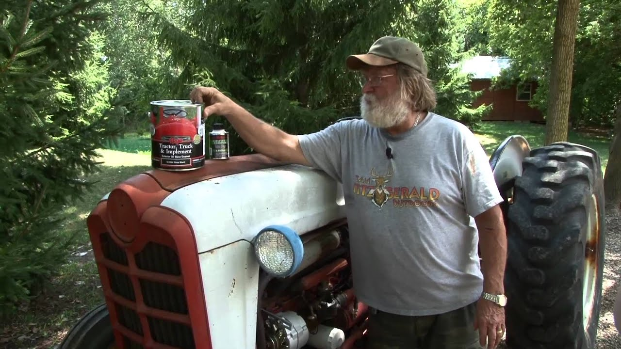 Majic Paint Ford 841 Classic Tractor Restoration Paint ...