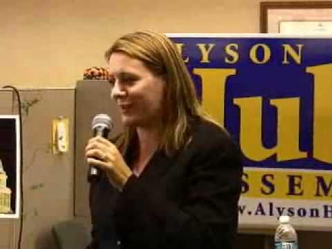 Alyson Huber Campaign Rally