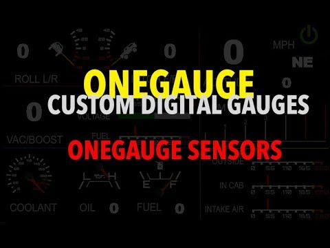Features – OneGauge Digital Gauges