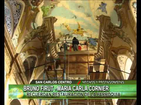 Bruno y maria recuerdan restauracion de la parroquia youtube - Maria y bruno ...