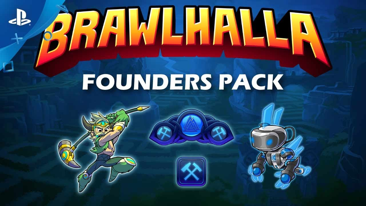 brawlhalla founders pack trailer ps youtube