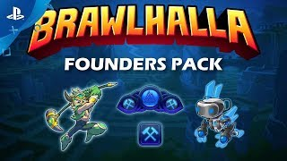 Brawlhalla - Founders Pack Trailer | PS4 thumbnail