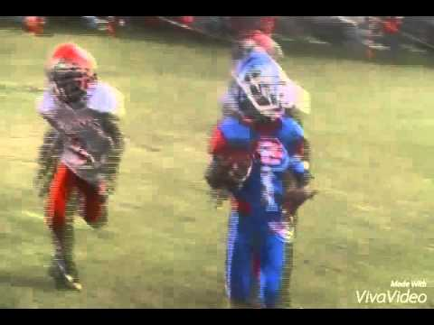 My son Richmond perrine optimist football