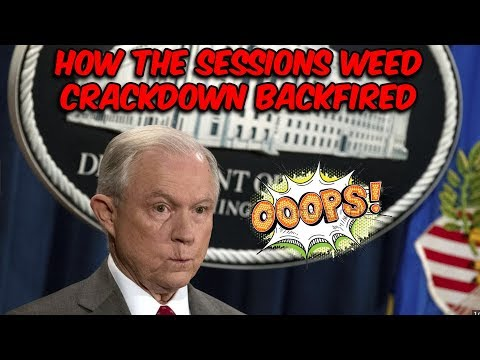 Sessions Weed Crackdown Backfires, Emboldening Political Discourse