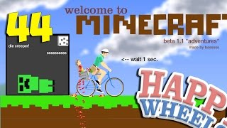 ДОХЛЫЙ КРИПЕР - Happy Wheels 44 (Карты Minecraft)