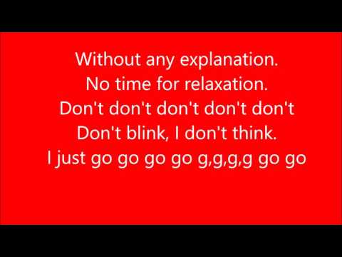 Sonic X lyrics