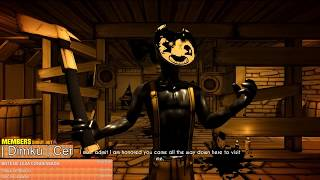 BENDY AND THE INK MACHINE CHAPTER 5 + SECRETS [🔴LIVE]