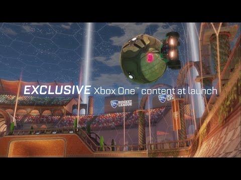 Rocket League XBOX ONE Gameplay Trailer (LEAKED)