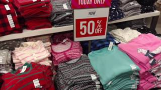 Old Navy: 50% off Sleepwear for the Family! 11/22 ONLY!