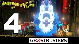 Part 4 BREAKING THE BARRIER - LEGO Dimensions Ghostbusters Story Pack - ALL MINIKITS + RESCUE