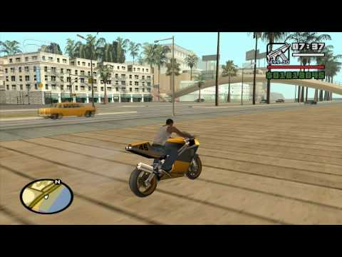 GTA San Andreas - Walkthrough - Unique Stunt Jump #11 - East Beach (Los Santos)