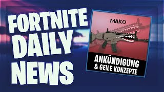 Fortnite Daily News *MAKO* WRAP KONZEPT & DETROIT BECOME HUMAN IM EPIC GAMES STORE (21 März 2019)