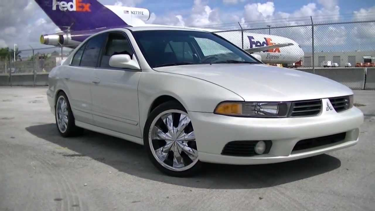 2002 MITSUBISHI GALANT. TEIN. S TECH LOWERING SPRINGS. - YouTube