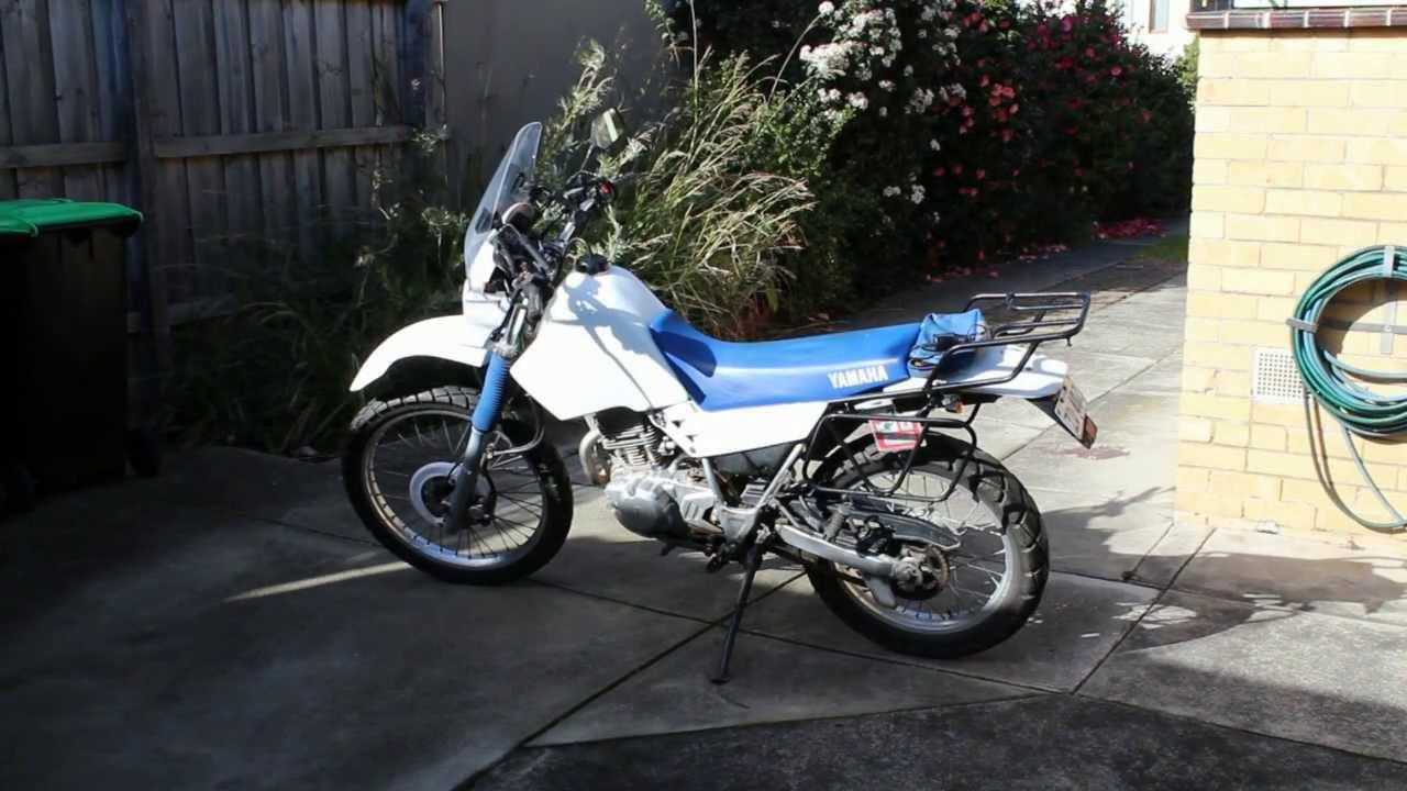 1999 Yamaha XT 225 / 250 Serow - Cold Start Up - YouTube