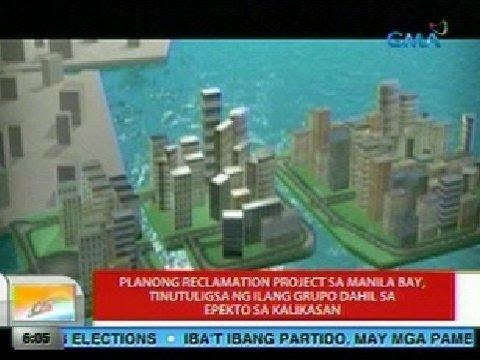 UB: Planong reclamation project sa Manila Bay, tinutuligsa ng ilang grupo