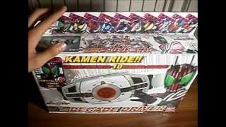 DX Kamen Rider Decade DecaDriver Unboxing [HD]