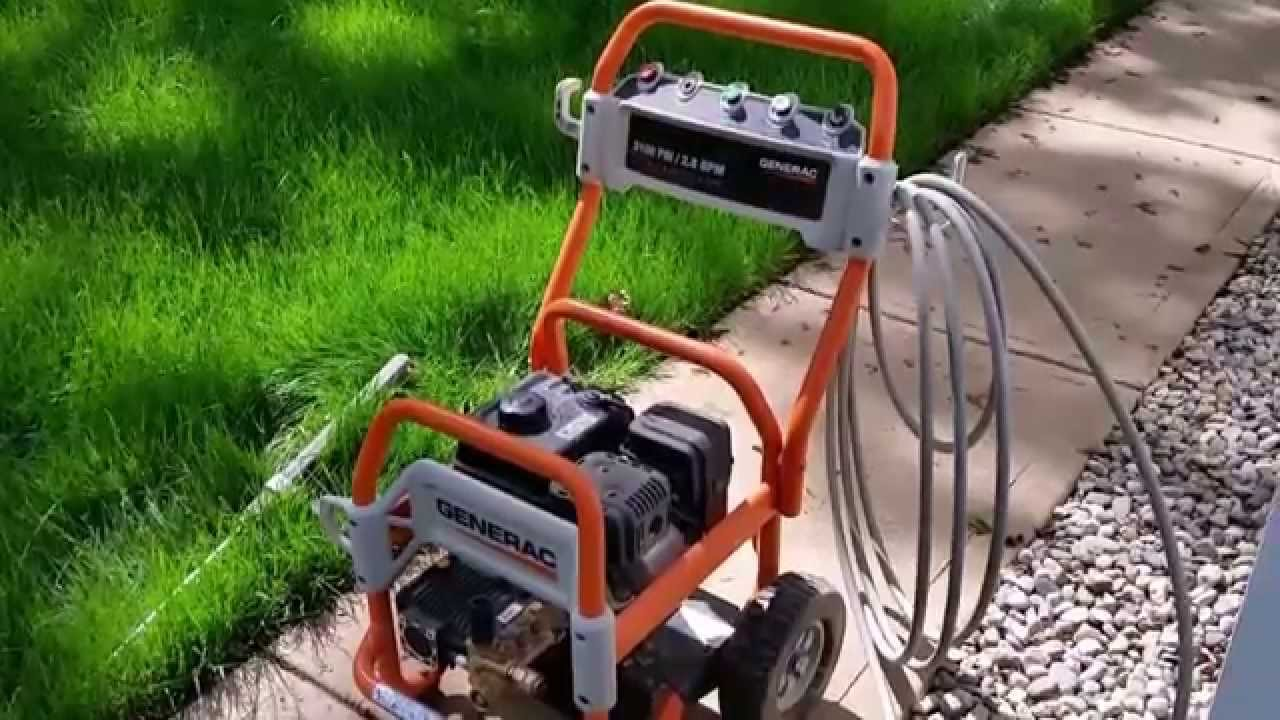 Generac Pressure Washer Review