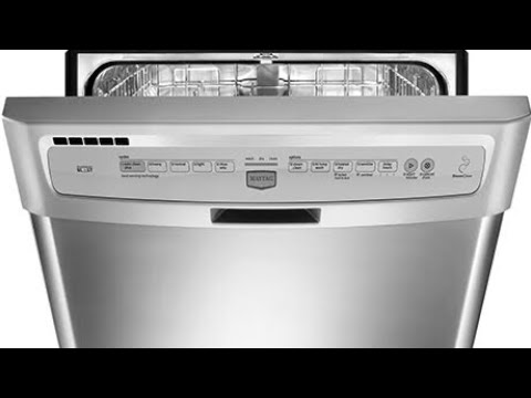 Maytag Dishwasher Controller Replacement Youtube