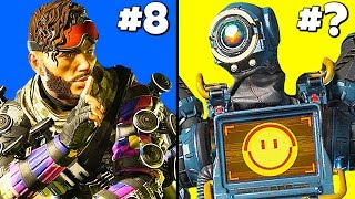 NEW Ranking Apex Legends CHAMPIONS (Worst to Best)