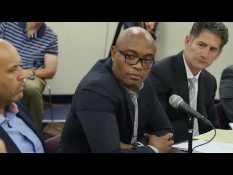 Nevada State Athletic Commission Hearing of Anderson Silva