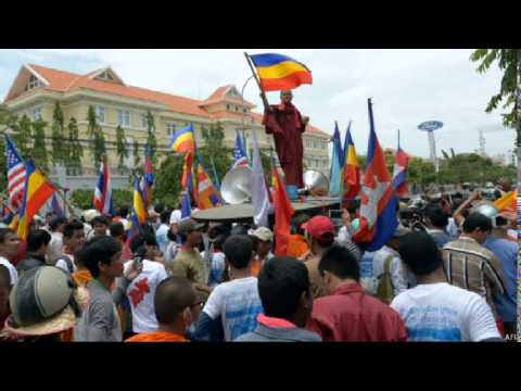 VN-PROTEST AGAINST VIETNAM IN PHNOM PENH