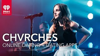 CHVRCHES Talk Online Dating And Dating Apps | iHeartRadio Album Release Party
