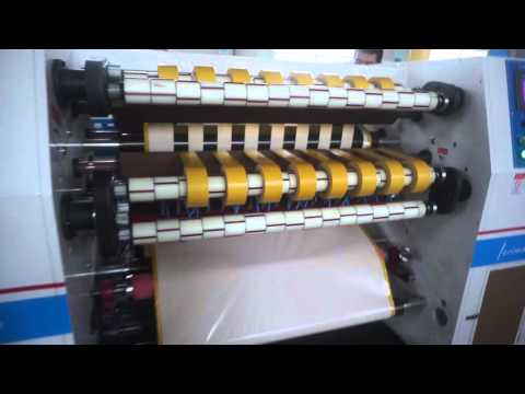 Zigzag double sided tape cutting machine