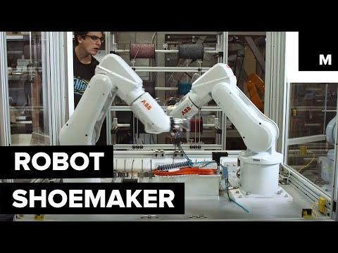 Robot shoemaker
