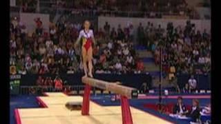 Sandra Izbasa 2006 Worlds Beam Event Finals