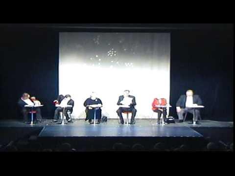 Letzte Vorstellung im Theater TRIBÜNE Berlin (Weihnachtslesung) 14.12.2008