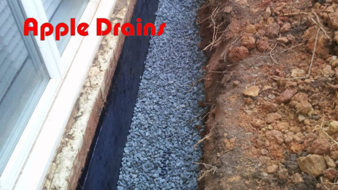 how to basement diy exterior wall foundation seal wall youtube