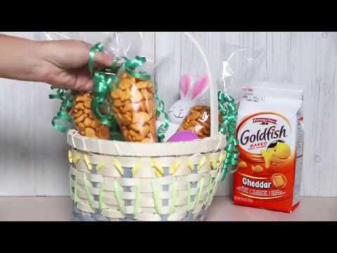 Goldfish Easter Carrot Bags