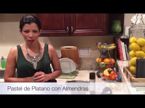 Pastel de Platano con Almendras & Avena