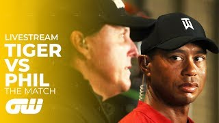 Tiger Woods vs Phil Mickelson: The Match | 24/7 LIVESTREAM | Highlights & Interviews | Golfing World