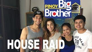 PBB Pinoy Big Brother Housemates RAID MY HOUSE (Wil Dasovich, Baninay, Jesi)
